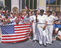 Desert Storm Victory Military Parade, Washington DC Stock Image