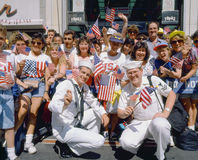 Desert Storm Victory Tickertape Parade Stock Photography
