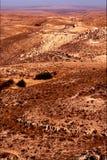 Desert street  in matmata Stock Image