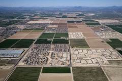 Desert Subdivision Stock Images