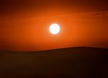 Desert Sun Stock Images