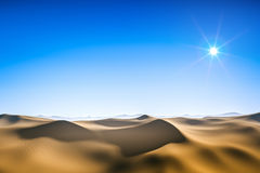 Desert sun Royalty Free Stock Photos