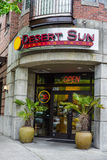 Desert Sun Tanning Salon. Located on Queen Anne Seattle Washington Royalty Free Stock Images