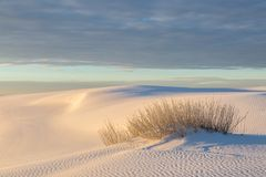Desert Sunrise, New Mexico. Sunrise at White Sands National Monument in New Mexico royalty free stock images