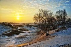 Desert Sunrise Stock Photography
