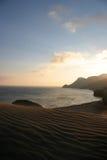 Desert sunset Royalty Free Stock Image