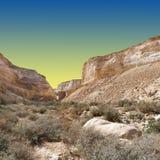Desert at Sunset Stock Images