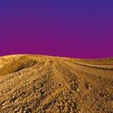 Desert at Sunset Stock Photos