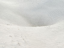 Desert surface with sand waves, texture. Stock Photo