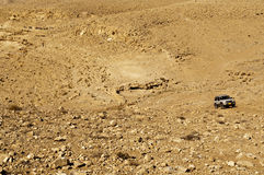 Desert SUV Stock Photo