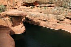 Desert swimming hole Royalty Free Stock Photography