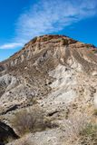 The desert of the Tabernas in Almeria. Spain Stock Photos