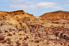 Desert of Tabernas, in Almeria, Spain Royalty Free Stock Image