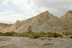 Desert Tabernas. landscape Stock Image