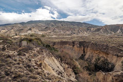 Desert of tabernas Royalty Free Stock Photography