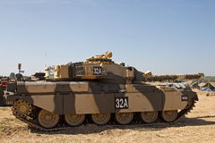 Desert tank Stock Photo