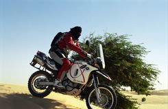 Desert tarveler , Mauritania Royalty Free Stock Images
