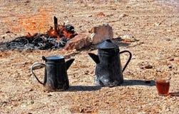 Desert tea Stock Image