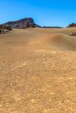 Desert of Teide. The desert near the Teide volcano in Tenerife Stock Photography