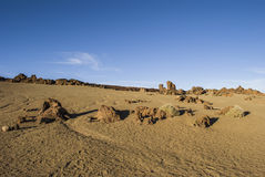 Desert (Teide - Tenerife) Stock Photos
