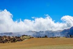 Desert on Teide Stock Image
