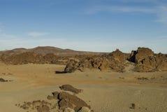 Desert (Tenerife, Canary Islands) Stock Images