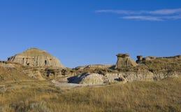 Desert Terrain in the bads lands Stock Photos