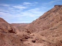 Desert terrain in san pedro de atacama Royalty Free Stock Photography