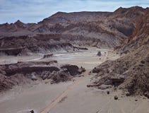Desert terrain in san pedro de atacama Royalty Free Stock Images