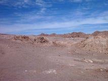 Desert terrain in san pedro de atacama Stock Photos