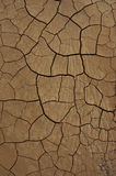 Desert Texture. Cracked earth Stock Photo