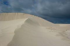 Desert Thunderstorm royalty free stock images