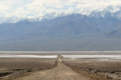 From Desert to Mountains in Death Valley. Death Valley March 2005 Royalty Free Stock Photos