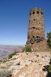 Desert Tower in Grand Canyon Royalty Free Stock Images
