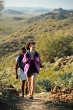 Desert Trail Hike Royalty Free Stock Photography