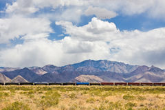 Desert Train Royalty Free Stock Image