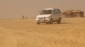Desert Train station at Rajasthan India stock footage