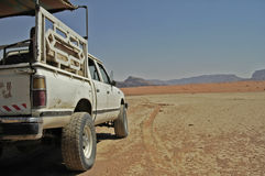 Desert travel Stock Image