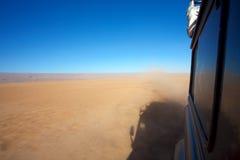 Desert travelling Royalty Free Stock Images