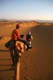 Desert trip Stock Photography
