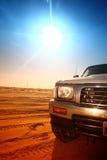 Desert truck Stock Photography