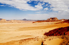 Desert valley Royalty Free Stock Image