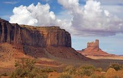 Desert Valley of Arizona Stock Images