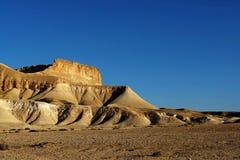 Desert View. Mountain in the Negev Desert Royalty Free Stock Photos