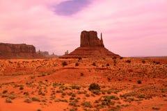 Free Desert View In Monument Valley, Utah, USA Stock Image - 34050031