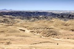 Desert view in Namibia Royalty Free Stock Images