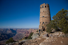 The Desert View Watch Tower Stock Images