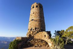 Desert View Watch Tower Grand Canyon of Arizona Royalty Free Stock Photography