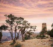 Desert View Watchtower Stock Images