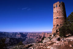 Desert View Watchtower, Grand Canyon Royalty Free Stock Photos